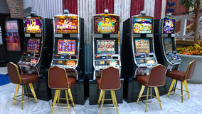 Slot machines Stock Photos