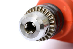 Slot of Power drill. Closeup slot of Power drill stock images