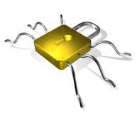 Slot - spin. 3D geef terug. vector illustratie