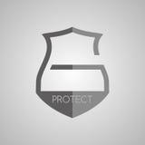 Slotbescherming vector illustratie