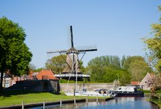 Sloten en los Países Bajos fotografía de archivo libre de regalías