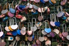 Sloten van liefde Royalty-vrije Stock Foto's