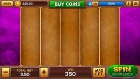 Slots game background Royalty Free Stock Photos