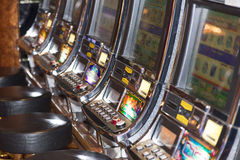 Slots machines Fotos de Stock