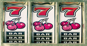 Slots Stock Image