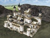Slott vektor illustrationer