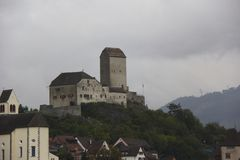 Slott arkivbilder