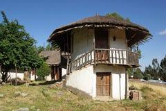 Slott Addis Ababa, Etiopien, Afrika royaltyfri foto