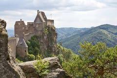 Slott Aggstein, Österrike royaltyfri foto