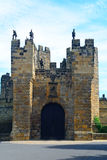 Slott Alnwick, England Royaltyfria Bilder