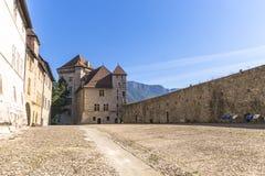 Slott Annecy, Frankrike Arkivfoton
