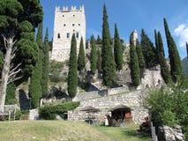 Slott Arco, Italien Arkivbilder
