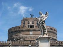 Slott av änglar Royaltyfria Foton