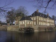 Slott av Ahaus Arkivbild