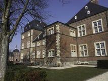 Slott av Ahaus Arkivfoto