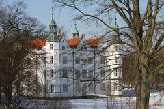 Slott av Ahrensburg, Tyskland, Schleswig-Holstein royaltyfri bild