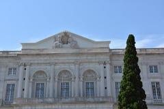 Slott av Ajuda i Lissabon, Portugal Arkivfoto
