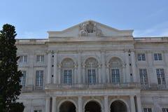 Slott av Ajuda i Lissabon, Portugal Fotografering för Bildbyråer