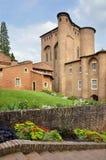 Slott av Albi i Frankrike Royaltyfria Foton