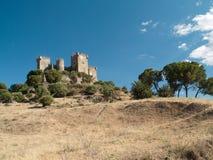 Slott av Almodovar del Rio Arkivbilder