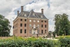Slott av Amerongen royaltyfri fotografi