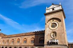 Slott av anledning - Mantova Italien Royaltyfri Bild