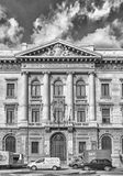 Slott av Bancaen Commerciale Italiana, Milan, Italien Royaltyfri Foto