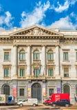 Slott av Bancaen Commerciale Italiana, Milan, Italien Arkivbild