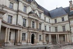 Slott av Blois. royaltyfri fotografi