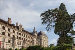 Slott av Blois royaltyfria bilder