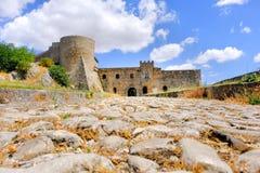 Slott av Bovino, Gargano - Foggia - Apulia - Italien royaltyfria foton