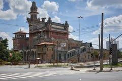 Slott av branscher som bygger i Sao Paulo royaltyfri bild