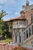 Slott av branscher som bygger i Sao Paulo arkivfoto