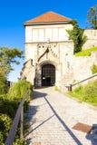 Slott av Bratislava, Slovakien Arkivfoto
