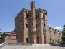 Slott av Brolio royaltyfria foton
