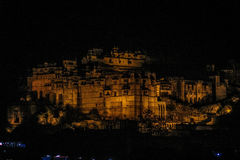 Slott av Bundi royaltyfri foto