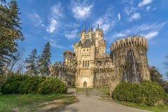 Slott av Butron royaltyfri foto