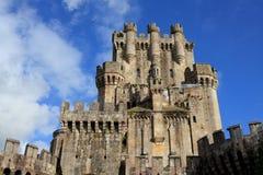 Slott av Butron, Spanien Royaltyfri Fotografi