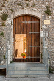 Slott av Campobasso, ingång Arkivfoto