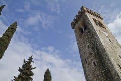 Slott av Caneva Royaltyfri Fotografi
