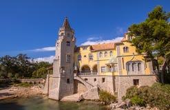 Slott av Cascais Royaltyfri Fotografi