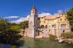 Slott av Cascais Arkivfoto