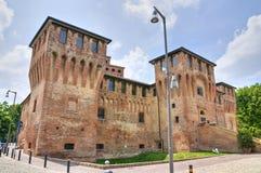 Slott av Cento. Emilia-Romagna. Italien. Fotografering för Bildbyråer