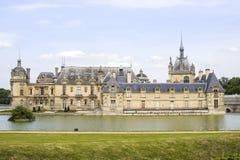 Slott av Chantilly Arkivbild