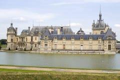 Slott av Chantilly Arkivfoton