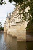 Slott av chenonceauen Arkivbilder
