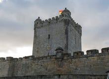 Slott av dålig bentheim i Tyskland Arkivbilder