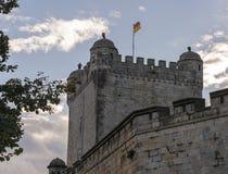 Slott av dålig bentheim i Tyskland Royaltyfri Foto