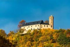 Slott av dåliga Blankenburg Arkivfoto