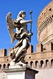 Slott av den heliga ängeln, Rome Royaltyfri Fotografi